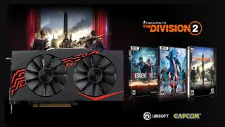 Get an RX 570 GPU for less with 2 free games, including The Division 2, DmC 5, or Resident Evil 2