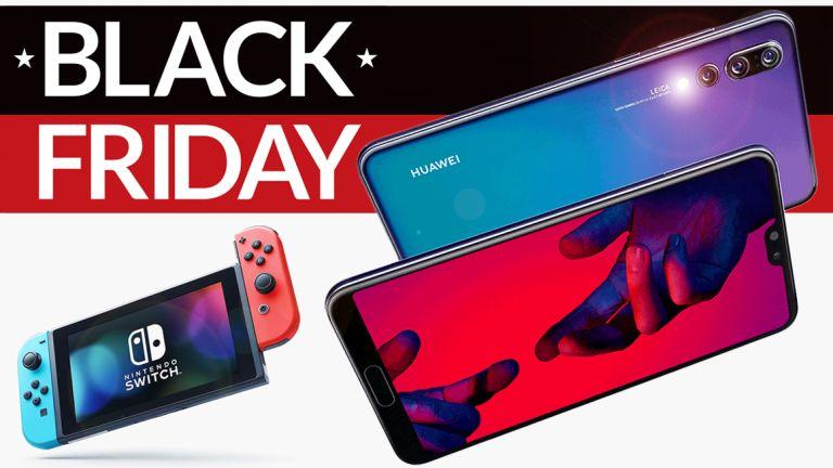 Free Nintendo Switch Huawei P20 Pro Black Friday Deal