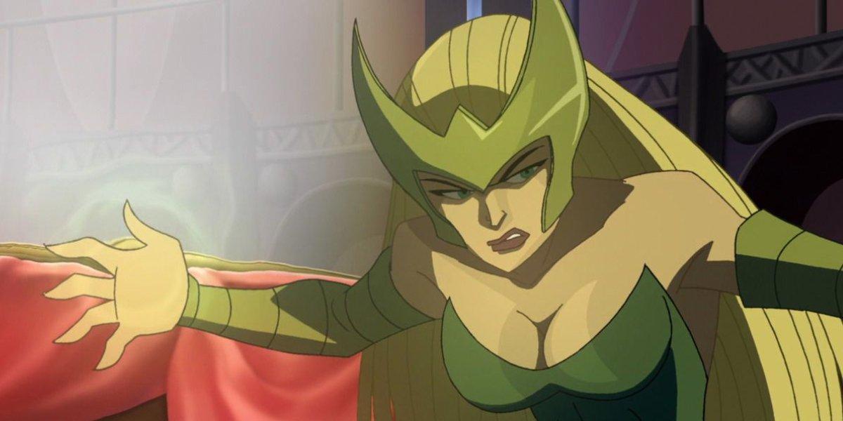 Enchantress in Thor: Tales of Asgard