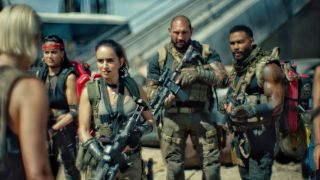 Army of the Dead team from Netflix movie