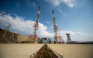 Launch Pad 1 at Tanegashima Space Center