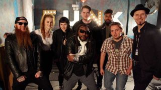 Mikey Demus and Benji Webbe of Skindred meeting ACM students