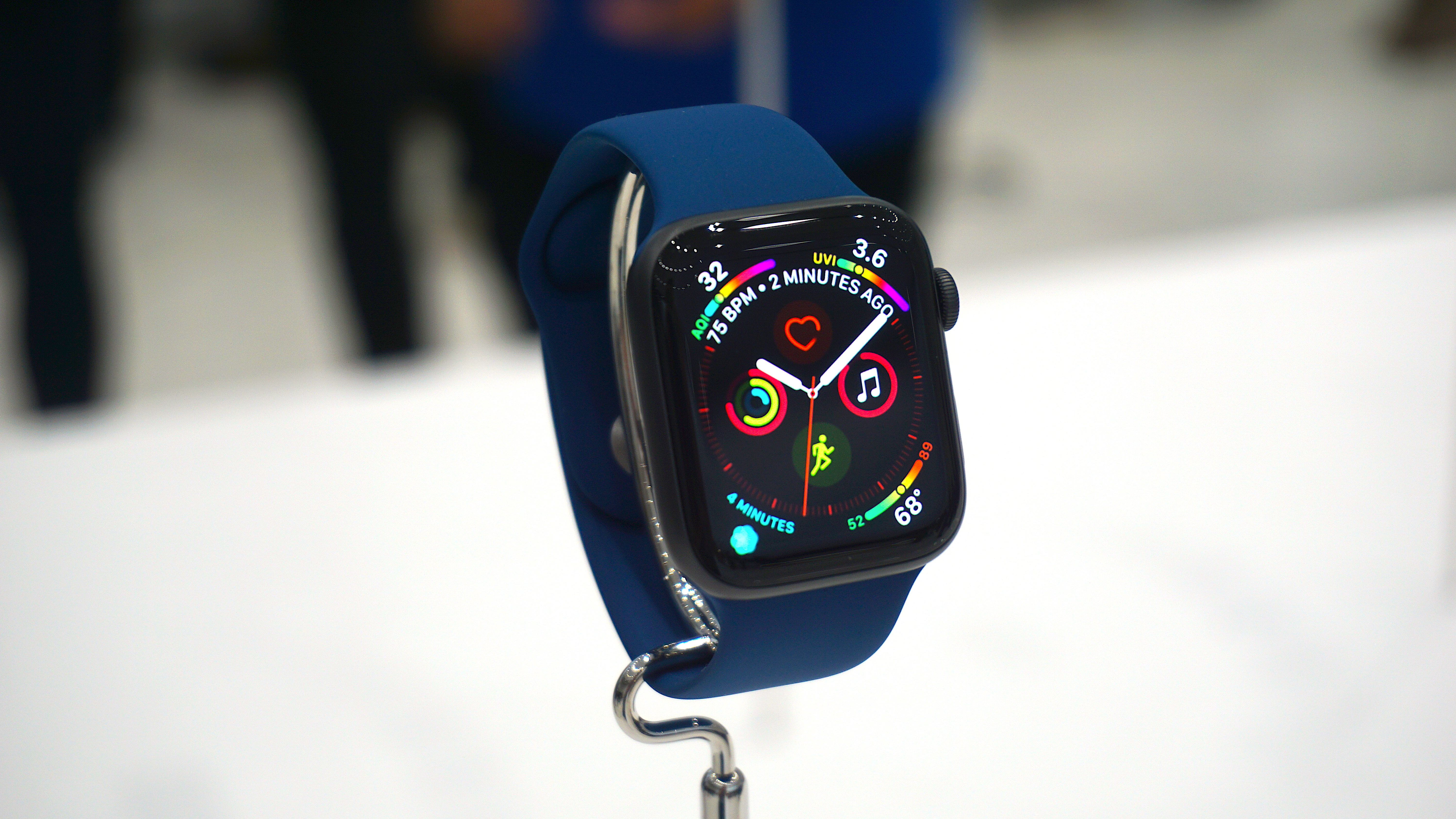 The 'main' new Watch face for the Apple Watch 4 - with eight complications that can be customized.