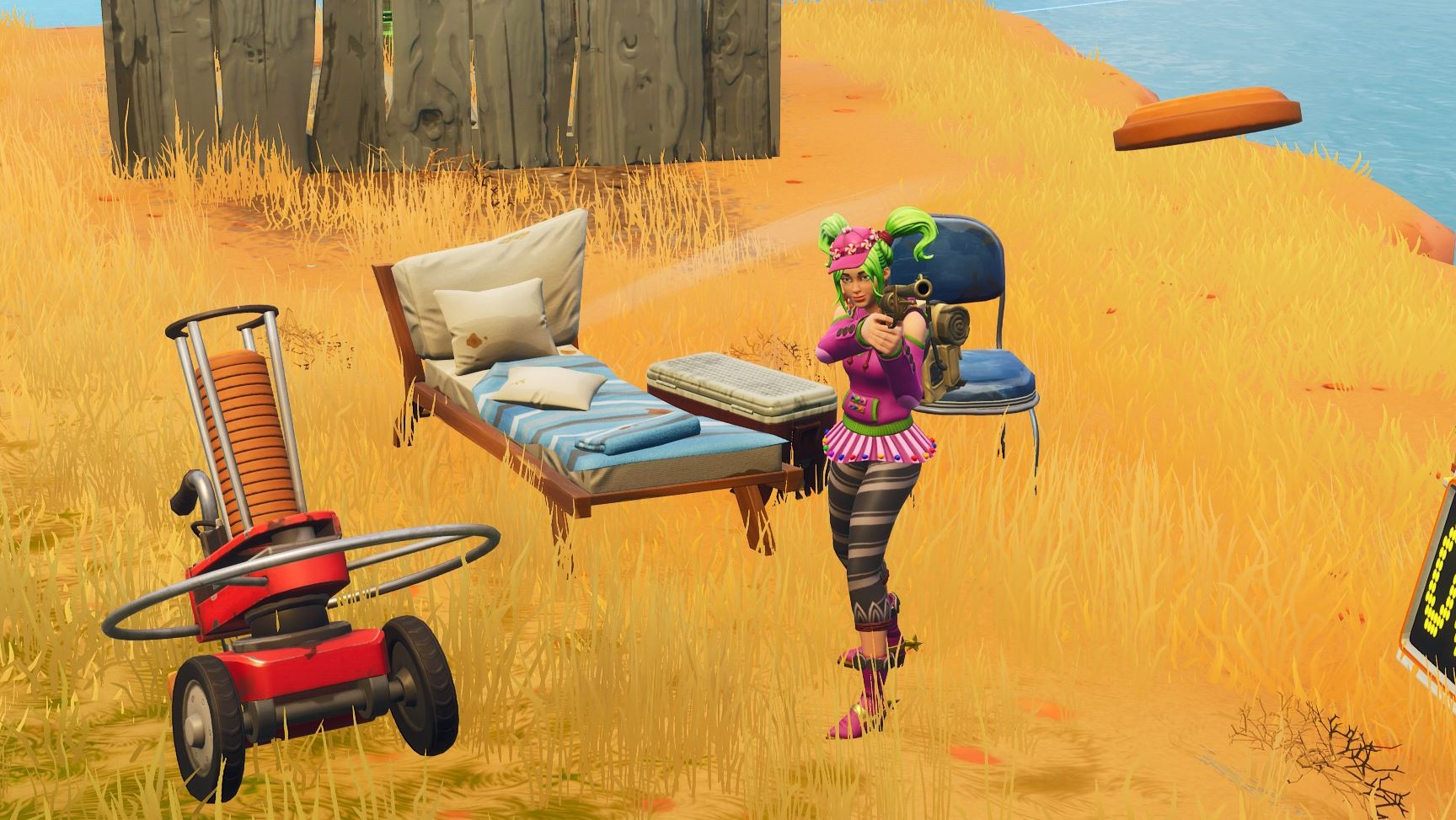 Fortnite All 6 Clay Pigeon Thrower Locations Pc Gamer