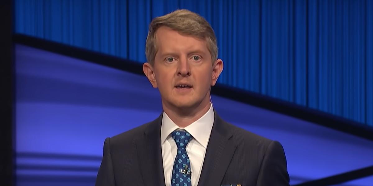 ken jennings first episode as jeopardy guest host