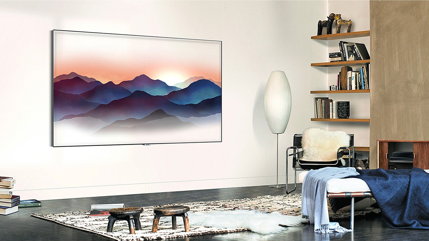 Samsung Q7fn Qled Tv 55q7fn Review Techradar Home Gt Structured Wiring Channel Vision Panels And