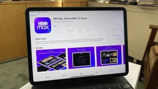 HBO Max app store