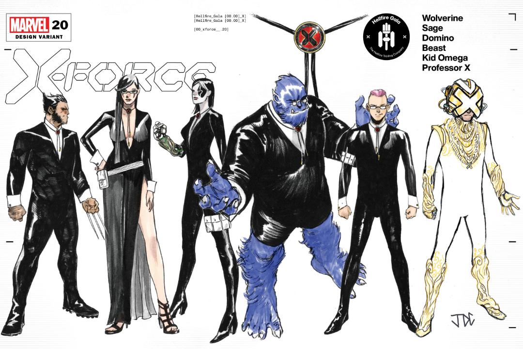 Cobertura variante de X-Force # 20