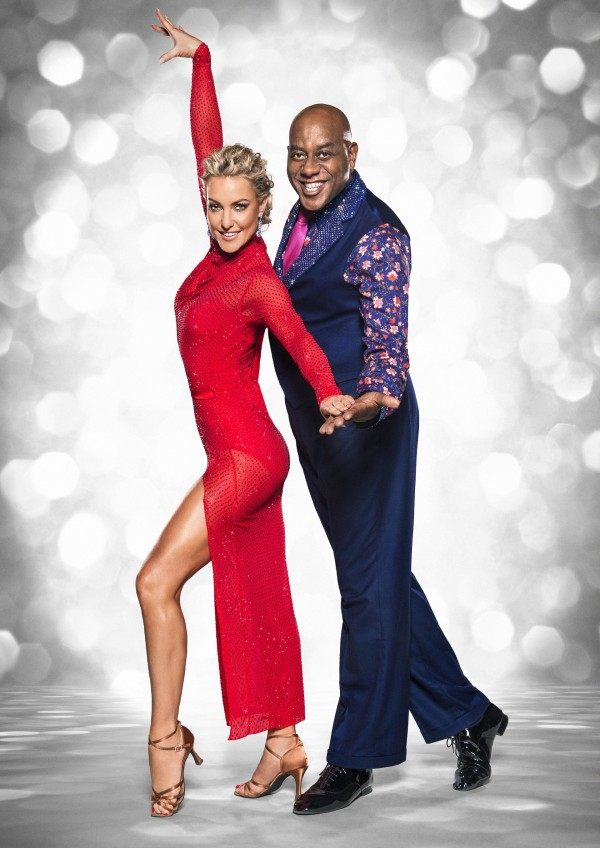 Ainsley Harriott with Natalie Lowe