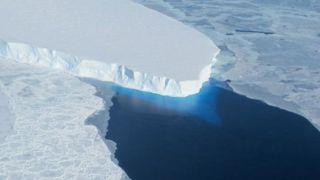 Antarctica's Twaites Glacier, climate change, ice melt
