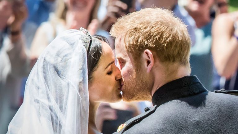 Prince Harry and Meghan Markle getting maried