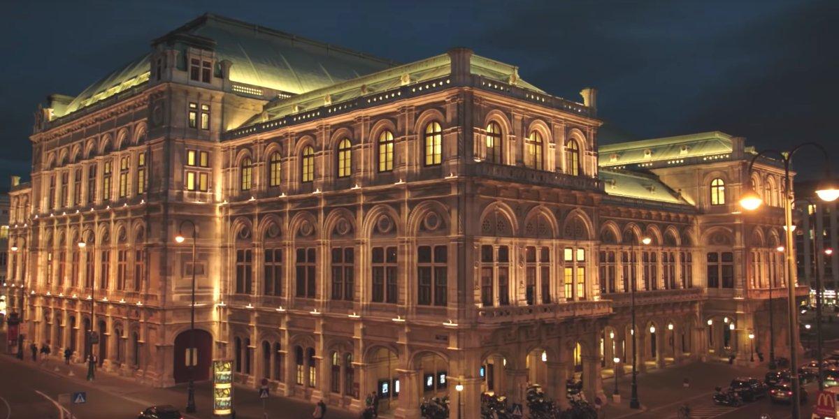 The exterior of Wiener Staatsoper