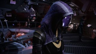 Tali in the ALOT mod for Mass Effect Legendary Edition