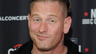 A picture of Slipknot frontman Corey Taylor without his mask on