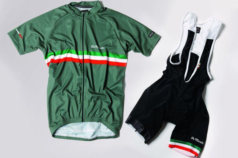 De Marchi PT jersey and bibshorts