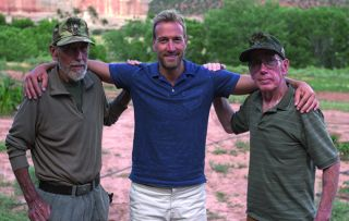 Three years ago, Ben Fogle visited twins Bill and Bob Stone in their hidden-away Utah home.