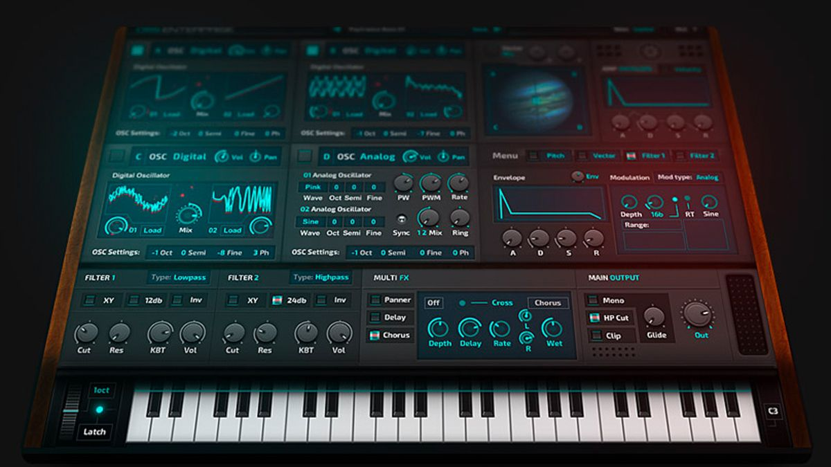 could the oss enterprise synth boldly go where no plugin has gone before musicradar. Black Bedroom Furniture Sets. Home Design Ideas