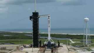 Weather permitting, today's SpaceX launch is 3:22pm EDT