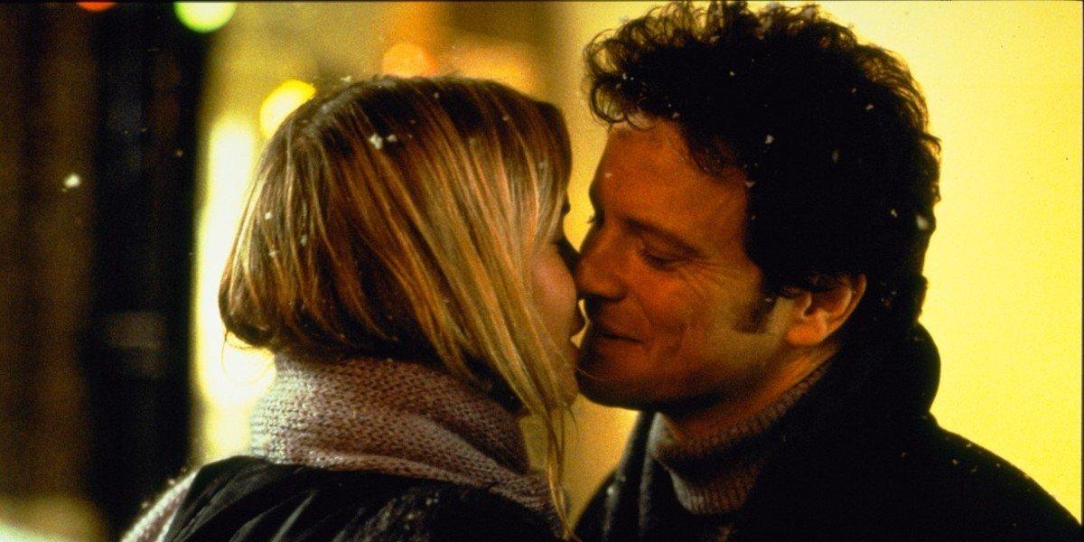 Colin Firth and Renee Zellweger in Bridget Jones's Diary
