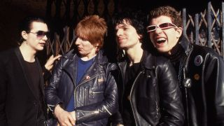 The Damned portrait, 1976