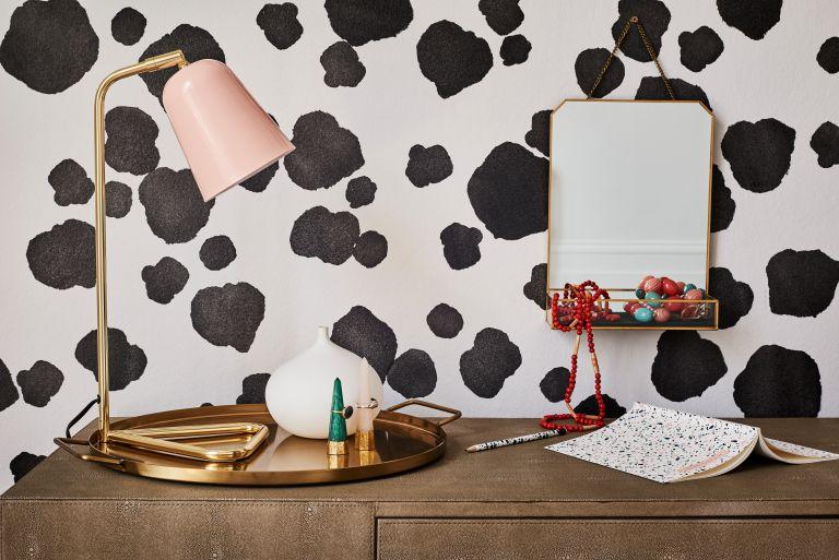 Dulux Dalmatian print paint idea