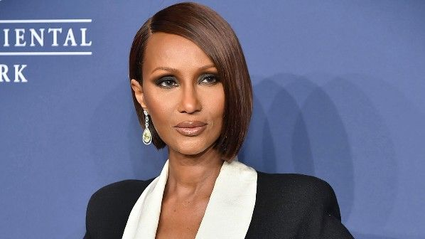 Iman Bowie on the red carpet