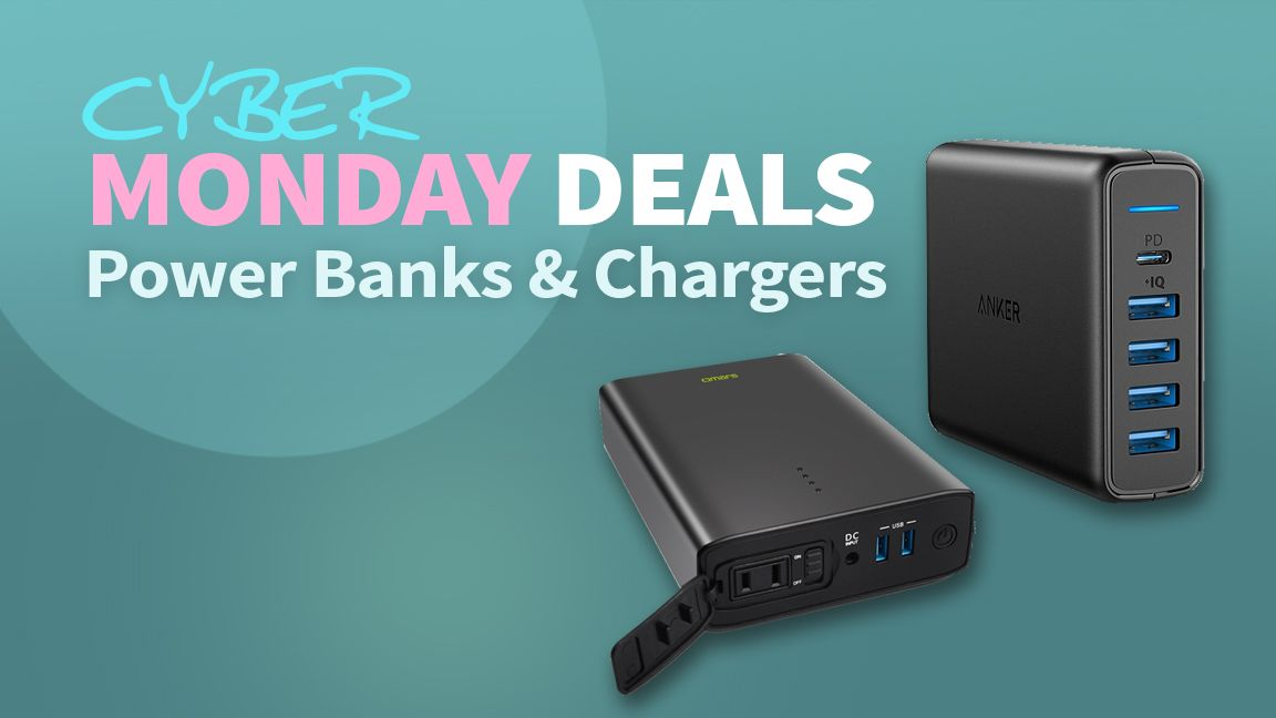 Best Power Bank Cyber Monday Deals Batteries Chargers And More Tom S Hardware