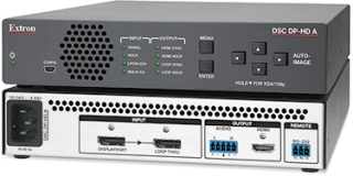 Extron Shipping DisplayPort to HDMI Scaler