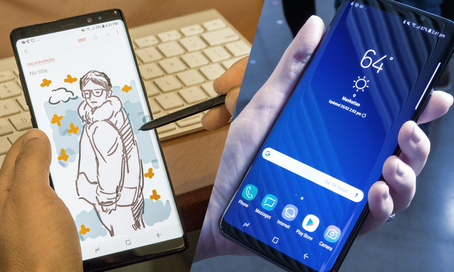 Galaxy S9 Vs Galaxy Note 8 What Should You Buy Tom S Guide