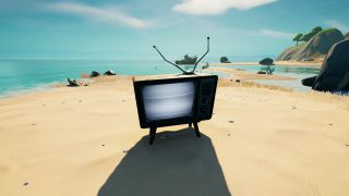 Fortnite Spooky TV Sets locations