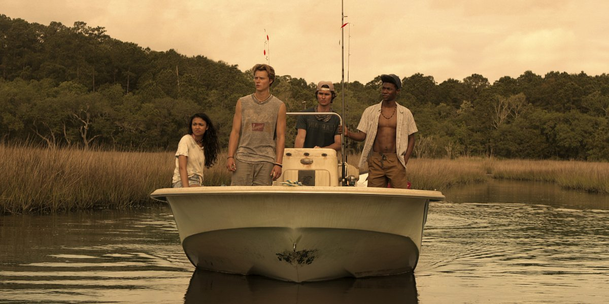The cast of Outer Banks