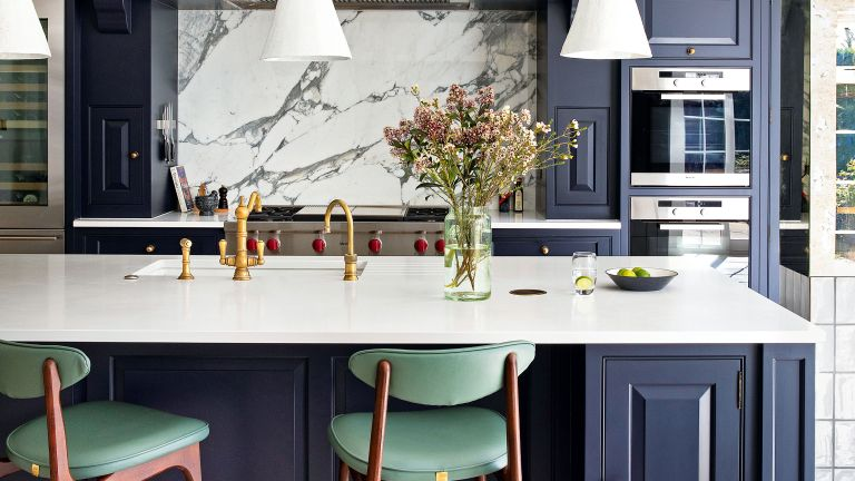 Kitchen countertop ideas with stone work surface