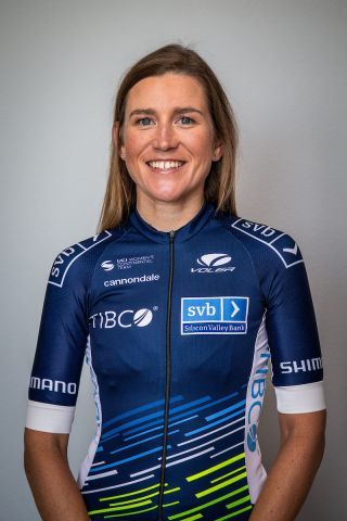 Team Tibco-Silicon Valley Bank's Lauren Stephens won stage 2 of the 2020 Virtual Tour de France