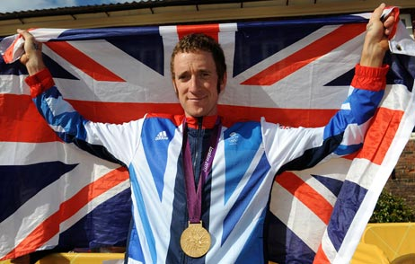 Bradley Wiggins, London 2012 time trial gold R