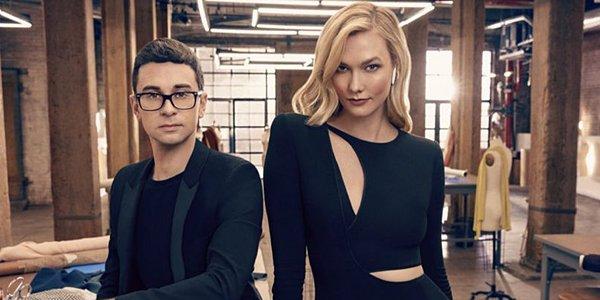 Christian Siriano and Karlie Kloss Project Runway Season 17 Bravo