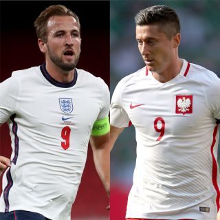 Harry Kane and Robert Lewandowski