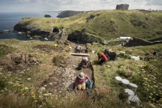Tintagel Excavations