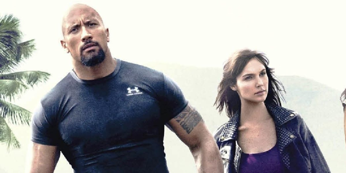 Gal Gadot Dwayne Johnson Fast And Furious 6 poster