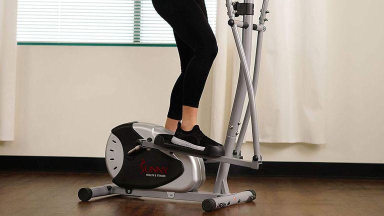 Best cross trainer: Sunny Health & Fitness SF-E905 Magnetic Elliptical Cross Trainer