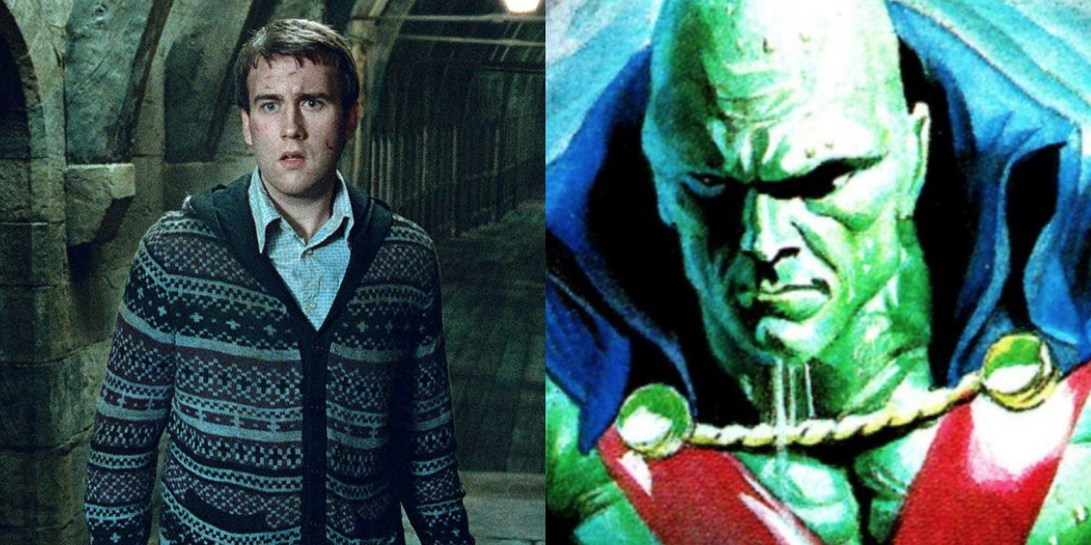 Matthew Lewis and Martian Manhunter