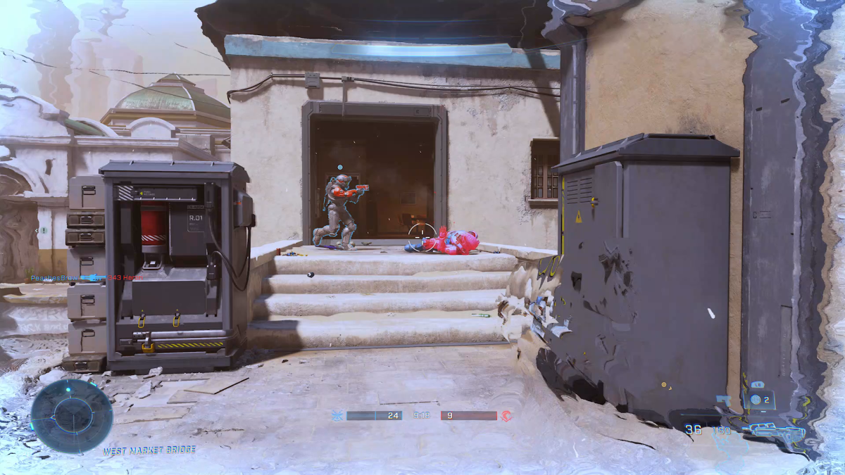 New Halo Infinite map footage leaks online - Gamesradar