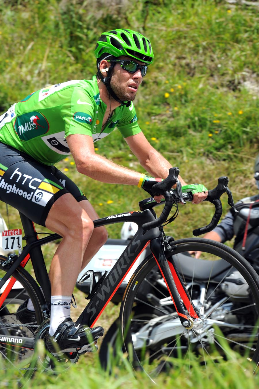 Mark Cavendish, Tour de France 2011, stage 14