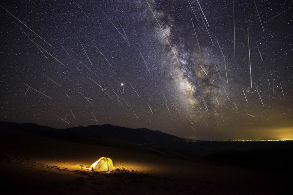 Look Up! Dazzling Double Meteor Shower Peaks Tonight | Space