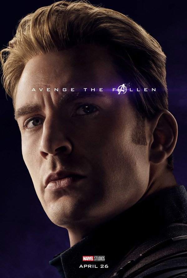 Captain America Full endgame poster