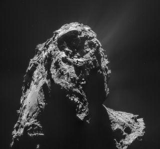 Comet 67P on Jan. 16, 2015