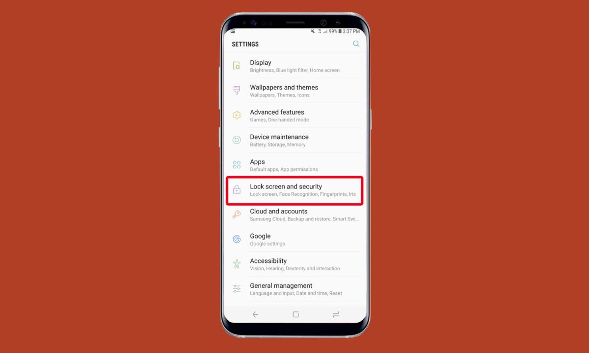 How to Set Up Iris Scanning on the Galaxy S8 - Samsung