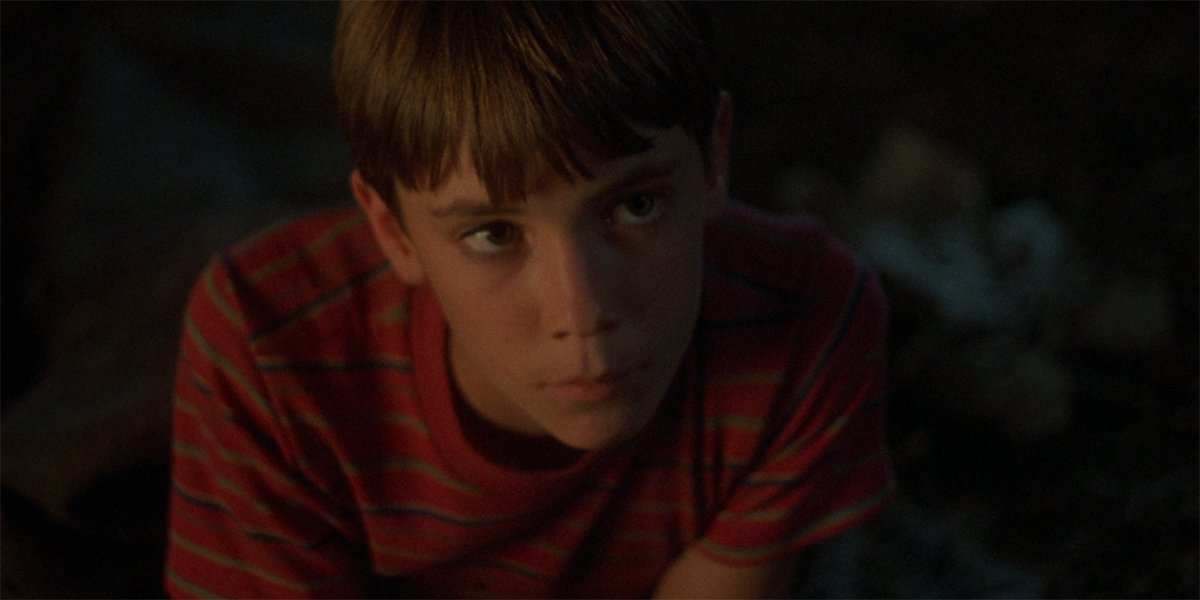 Wil Wheaton as Gordie in Stand By Me