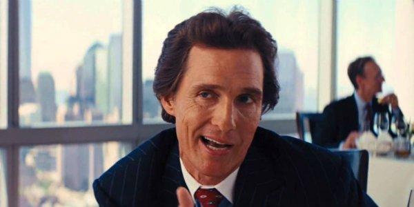 Matthew McConaughey Wolf of Wall Street