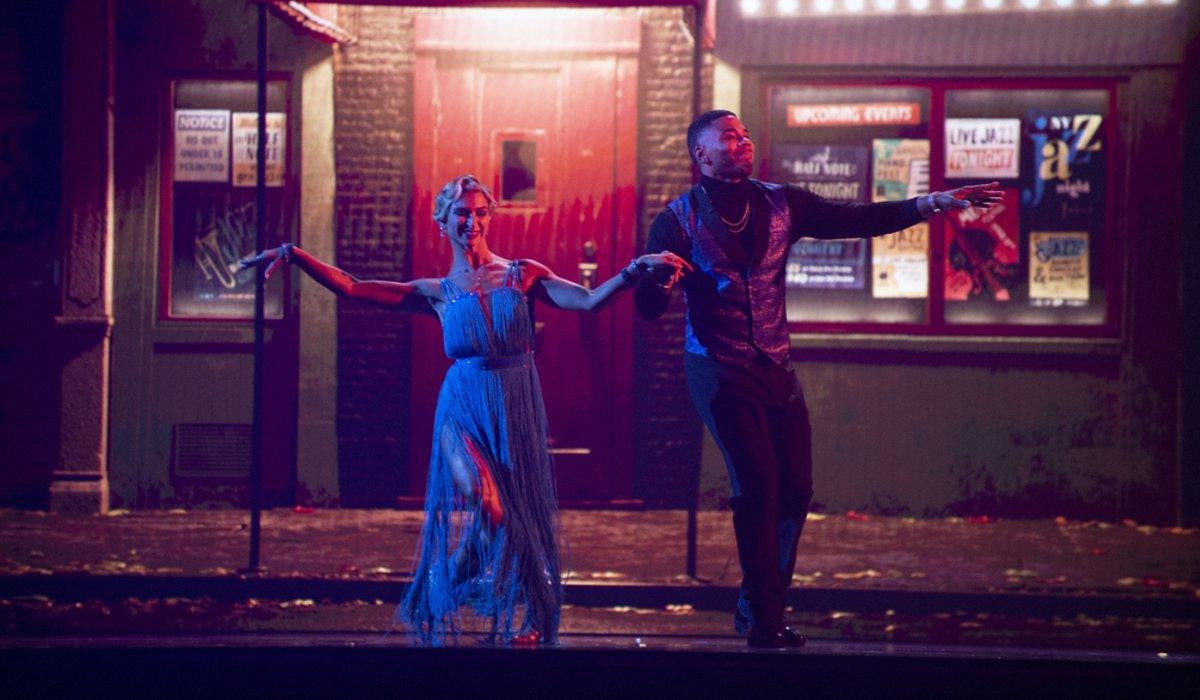 Nelly and Daniella Karagach dwts disney night