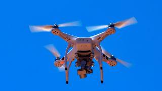 Recreational drone quadcopter